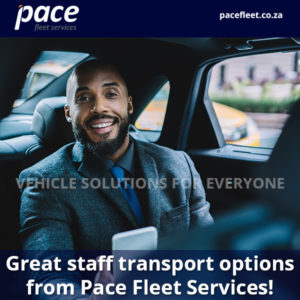 Great staff transport options from Pace Fleet Services