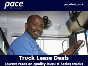 truck lease from Pace Fleet
