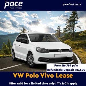 VW Polo Vivo lease from Pace Fleet Services